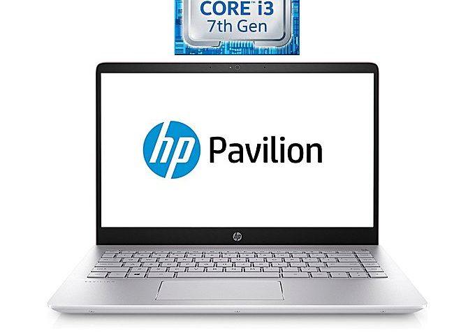 HP لاب توب 14-bf040wm - إنتل كور i3 - رام 8 جيجا بايت - هارد ديسك 1 تيرا بايت - شاشة عالية الجودة 14 بوصة - معالج رسومات إنتل - Windows 10 - فضي